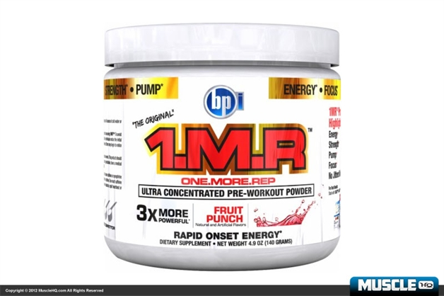 BPI 1MR Pre-Workout Powder - 28 Servings